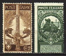 #2168 - Regno - Cinquantenario Unità Italia, 1911 - Nuovi (** MNH)