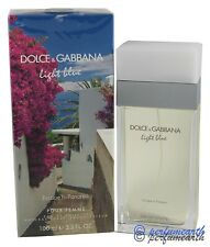 Light Blue Escape To Panarea By D&G 3.3/3.4oz. Edt Spray For Women New In Box