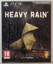 HEAVY RAIN EDICION ESPECIAL - PLAYSTATION 3 - PAL ESPAÑA - COMPLETO