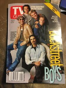 Backstreet Boys TV GUIDE ~Vintage ~Collectible ~ May 26 - June 1 2001