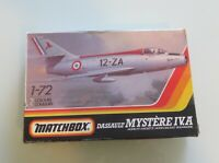 Matchbox 1/72 Dassault Mystere pk47