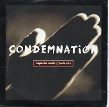 CD Single DEPECHE MODE Condemnation - Paris Mix - 2-track CARD SLEEVE + RARE+ EX