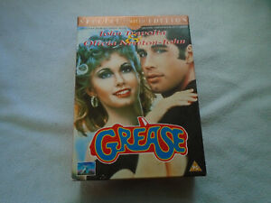 Grease Special Limited Edition VHS and Soundtrack Special Boxed Limited Edition