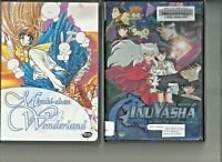 Miyuki-Chan in Wonderland and INUYASHA The Movie  2 DVD's