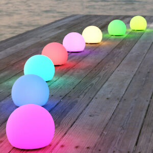 ShapeLights Indoor & Outdoor USB Solar Powered Mood Light Mini Sphere