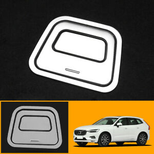 For Volvo XC60 2018 2019 2020 Steel Matte Rear Spare Wheel Handle Cover Trim