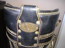 Vintage Burton Jasper Alabama leather golf bag