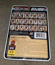 G.I. Joe 25th Anniversary FOIL COBRA H.I.S.S. DRIVER