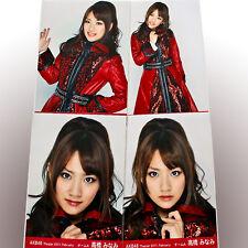 """AKB48 Minami Takahashi """"AKB48 Theater 2011 February"""" 4 photos complete set"""