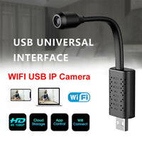 Mini IP Kamera USB WiFi Camera WLAN Überwachungkamera Hidden KameraHD 1080P