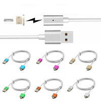Micro USB Magnetic Charging Data Cable Adapter Charger Cord For Android Phone