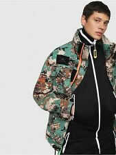 BNWT Men's DIESEL Toucha Camouflage Army Jacket Size L RRP £400