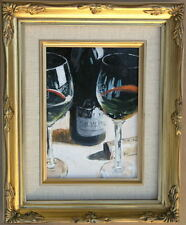 "Framed Oil Painting ""Still Life-II""  ( 9 x 11 inches)"
