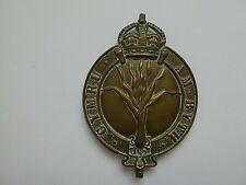 More details for edwardian welsh regiment valise badge - numbered - cymru am byth