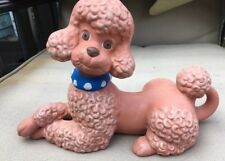 vintage Ceramic Pink Poodle Atlantic  Mold large size