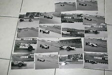 lot 18 photos grand prix hollande F1 1968 Siffert Amon  Surtees Stewart....