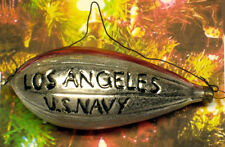 """Los Angeles"" Zeppelin: ""Vintage Style"" Ornament Blown in Lauscha, Germany"