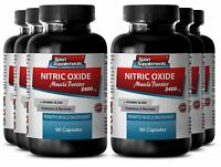 L-Arginine L-Citrulline - Nitric Oxide 2400mg - Trigger Intense Vascularity 6B