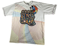 Coogi Mens Shirt King Of Color Sz 3XL Crew Neck Short Sleeve  White