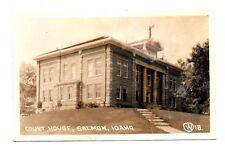 Salmon, Lemhi County, Idaho ~ Court House, Real Photo Pc ~ c. 1940's