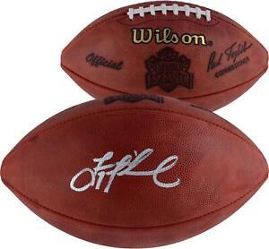 Troy Aikman Dallas Cowboys Autographed Super Bowl XXVII Duke Pro Football