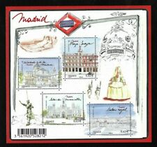 Bloc Feuillet 2013 N°F4730 Timbres France Neufs - Capitales Européennes Madrid