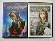 2 Charlize Theron Dvd Lot Aeon Flux & North Country