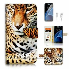 ( For Samsung Galaxy S7 ) Case Cover P4030 Leopard