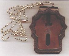 Paterson Police (NJ) Detective Badge Neck Hanger/Belt Clip (Badge Not Included)