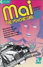 MAI the Psychic Girl #17: MANGA: Comic format: Eclipse 1987