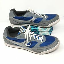 Men's Skechers Heritage Sport Size 13 Sneakers Shoes Athletic Gray Blue R13