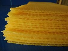 Beekeeping - 50 sheets full depth heavy beeswax foundation
