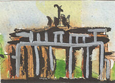 Oliver Orthuber - The 11 Waterloo Pieces -Part 03 - mixed media on Paper