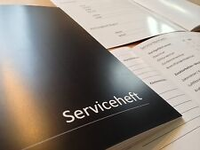 Edles Serviceheft ✓ für RENAULT geeignet ✓ NEU & blanko Wartungsheft Scheckheft