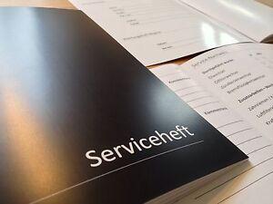 5 Stück Edles Serviceheft Wartungsheft Scheckheft universal & NEU ✓ Vorteilspack