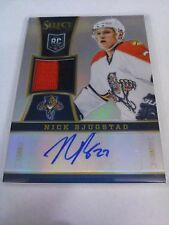 Nick Bjugstad 2013-14 Select Prime Prizm Rookie Patch Auto /25 Panthers