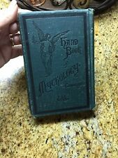 "1883 Antique Book ""A Hand-Book of Mythology"" S.A. Edwards~Beautiful Condition!"