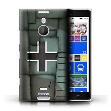 Stuff4 Hülle/Case für Nokia Lumia 1520/Deutsch/Grün/Kampfflugzeug Flügel