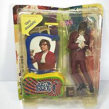 New listing Vintage 1999 Mcfarlane Austin Powers Purple Suit Action Figure Loose
