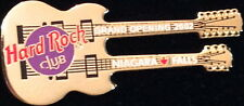 Hard Rock Club Niagara Falls Can 2002 Grand Opening Go Pin Guitar in Box #14174