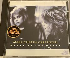 MARY CHAPIN CARPENTER: State of the Heart; 1989 LN CD