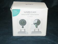 t2 Wyze 1080p Cam HD Wi Fi Indoor Smart Home Night Vision 2 Way Mic Alexa 2 pack