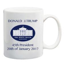 Donald Trump Coffee Mug Cup Presidential  45th President Inauguration 20th Jan