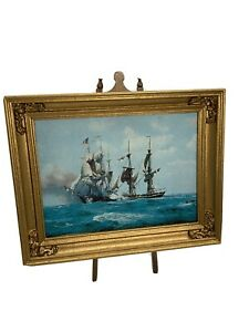 Dollhouse Miniature Nautical Picture