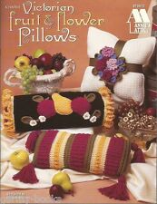 Victorian Fruit and Flower Pillows Crochet Patterns Michele Wilcox Annie's NEW