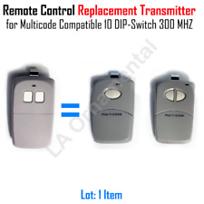 Remote Control Linear Replacement  Multicode Compatible 10 DIP Switch 300 MHz