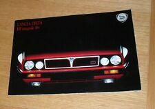 Lancia Delta HF Integrale 16v Brochure 1989-1990