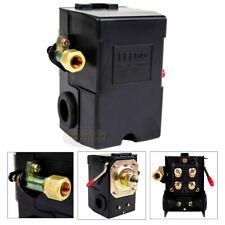 Heavy Duty 26 Amp Air Compressor Pressure Switch Control Valve 95-125 PSI 1 Port