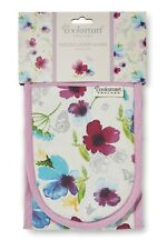 Cooksmart Chatsworth Floral Double Oven Gloves
