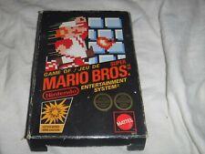 Super Mario Bros (NES, 1986) CANADIAN VERSION CIB